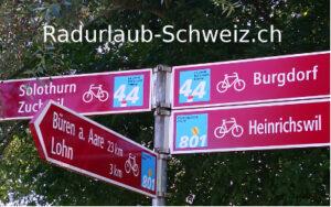 Radfahren Schweiz